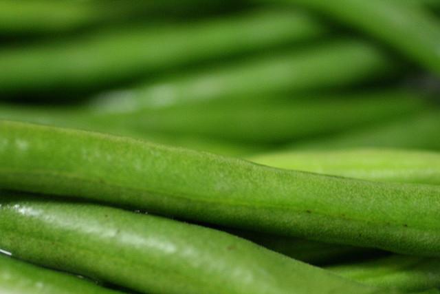 Zöldbab hüvely